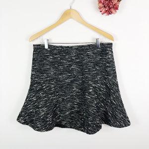 [J. CREW] Founced Tweed Skirt